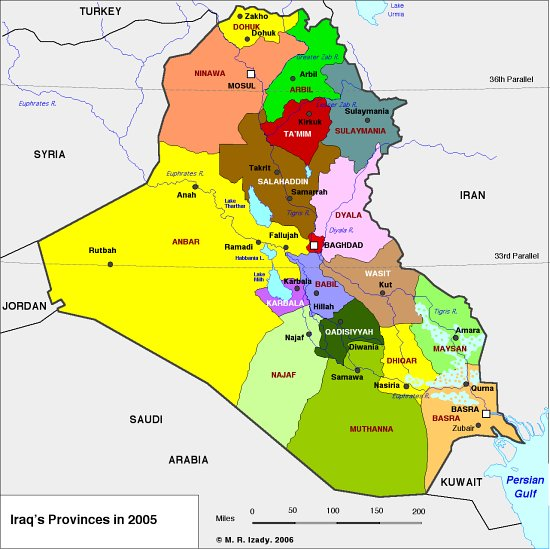 Irako provincijos
