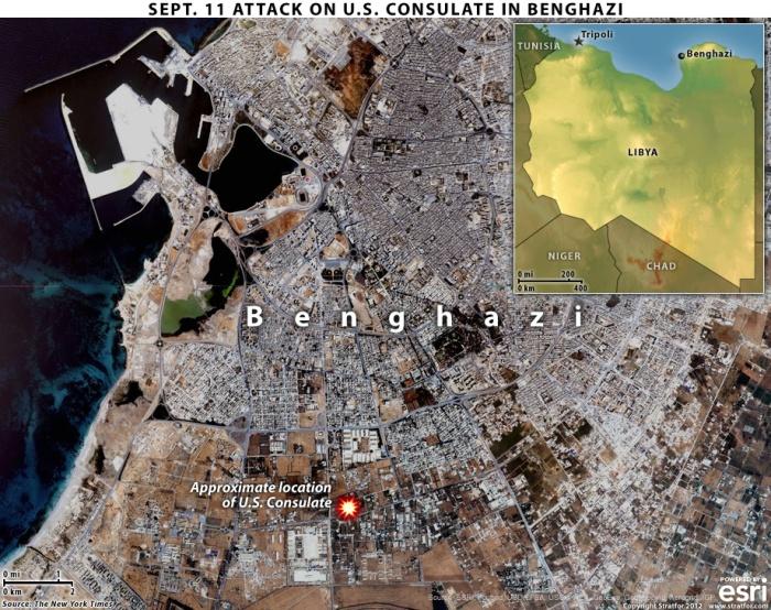 2012-09-11 išpuolis prieš JAV konsulatą Bengazyje